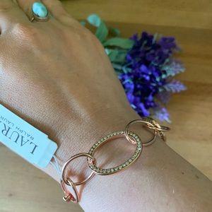 💝Lauren Ralph Lauren Pavé Oval Link Bracelet
